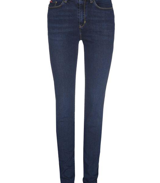 Kenza Jet Dark Used - Skinny Jeans