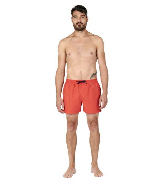 Zwemshort effen bies zijkant VALORIS