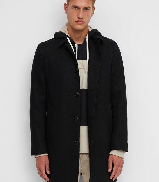 Mantel Van gekookte wol