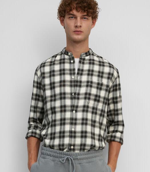 Overhemd met lange mouwen met een overshirtmodel