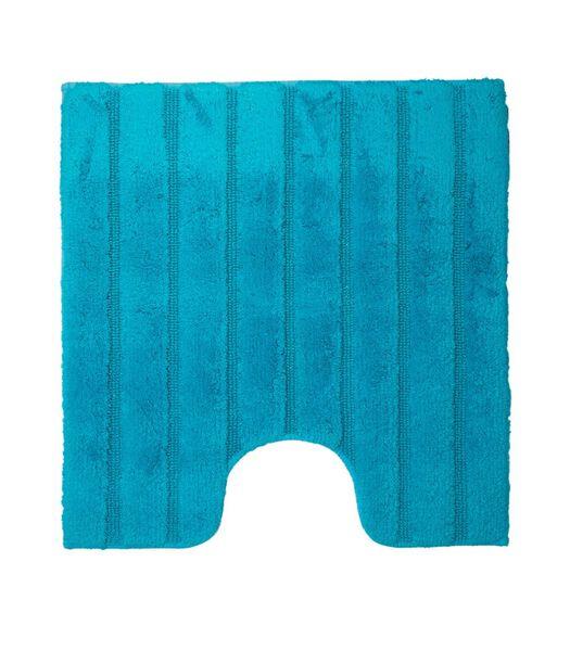 tapis de toilette California turquoise