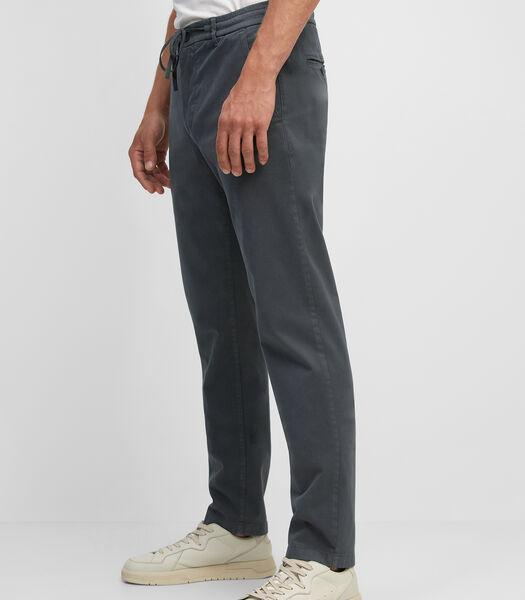 Chino model STIG jogger van Tencel™ lyocell