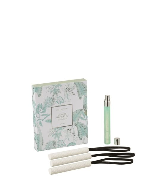 Boite 3 Suspension Parfumee Monet Gardens Aqua