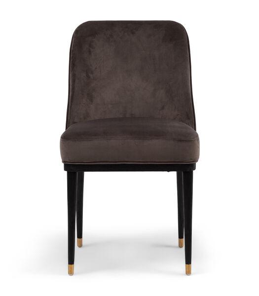 Chaise de salle à manger Getty Vel III Anthra