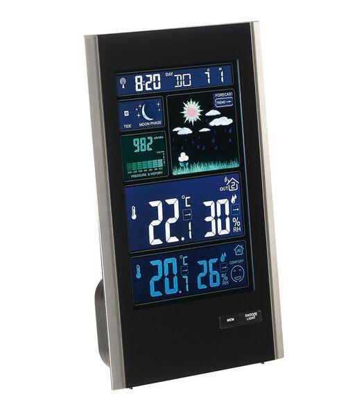 Weerstation met barometer