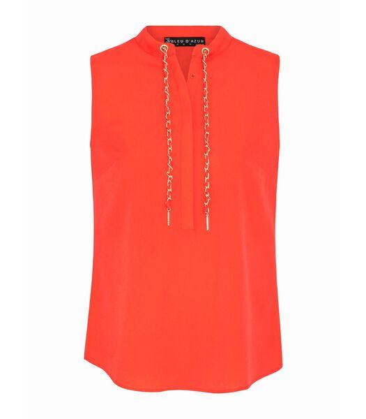 Vloeiende voile blouse FERGIE