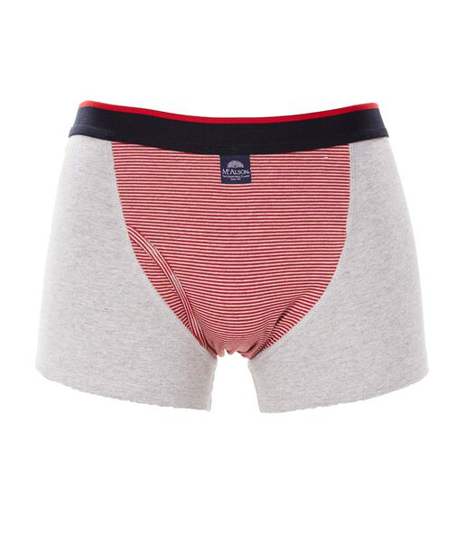 Mannen Jersey Boxer- Patch rood