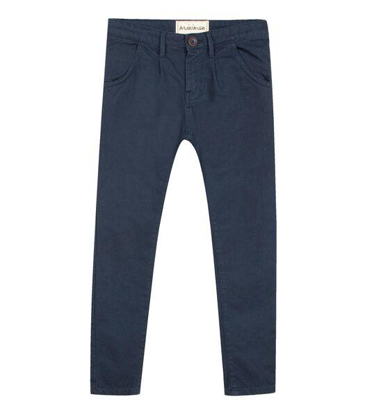 Pantalon en toile coupe chino