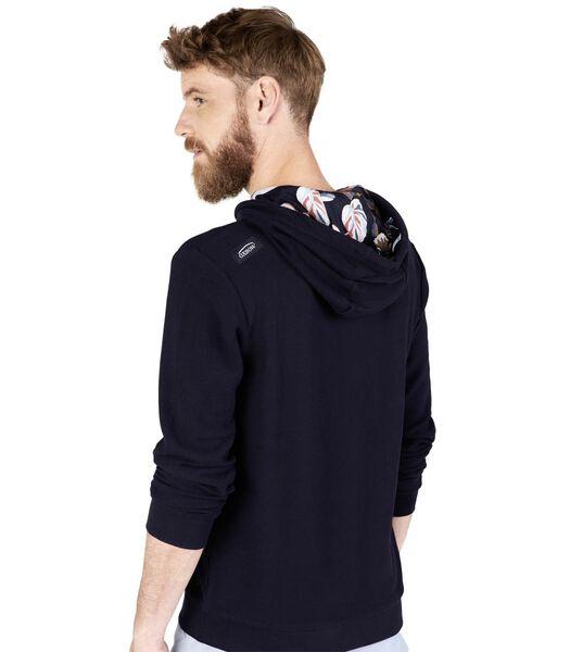 Sweater met kap molton SWAM