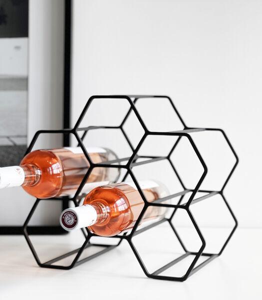 PICO (6) casier à vin noir