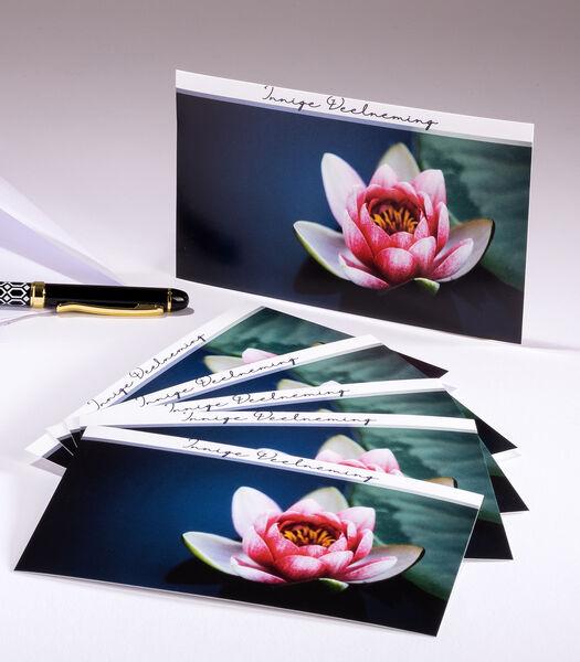 Hangpakjes met 6 enkele kaarten Sympathy - Innige