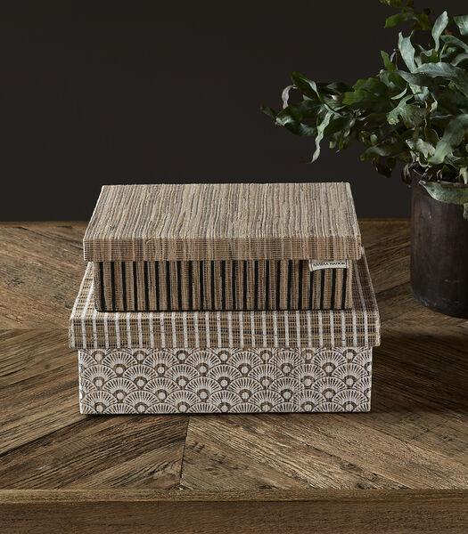 Beauty By Nature Storage Box S/2