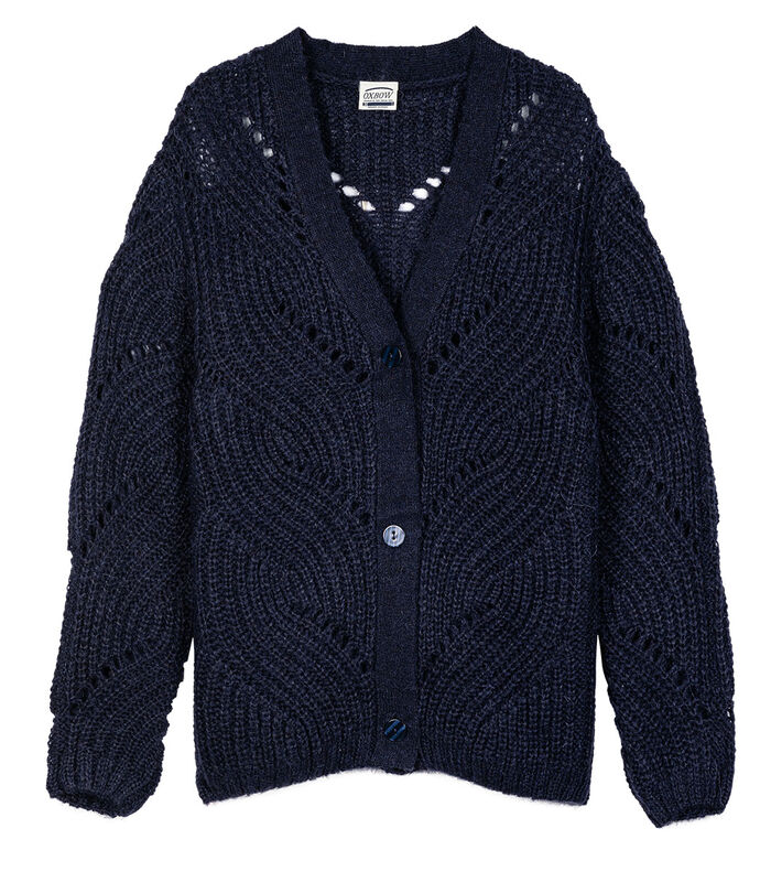 Cardigan mohair PONEGAL image number 3
