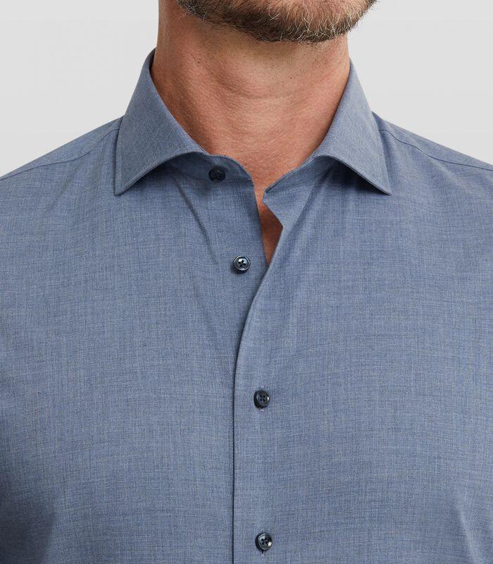 Easy care overhemd met denim look image number 3