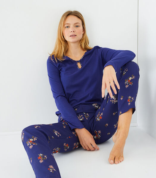 Envol - Homewear T-shirt met lange mouwen katoenmodal