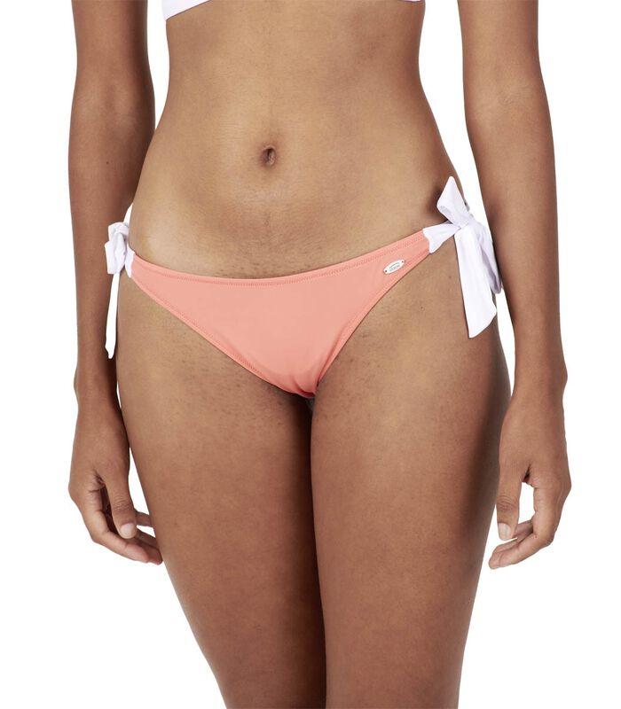 Bikinibroekje effen met strikjes MOLLY image number 0