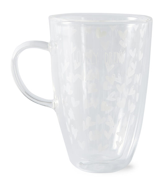Lovely Drinks Double Wall Glass L