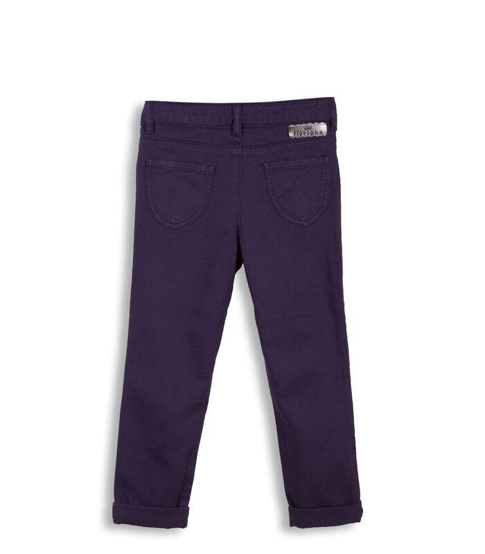Slim jeans met ruches image number 1