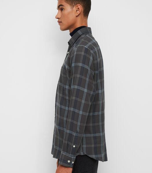 Overhemd met lange mouwen van zacht organic cotton