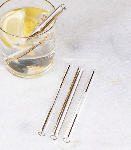 Glamorous Cocktail Straws 4 pieces