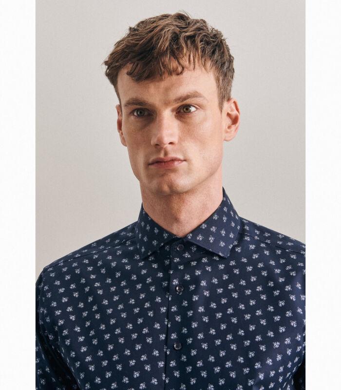 Oxfordhemd Regular Fit Extra lange mouwen Print image number 4