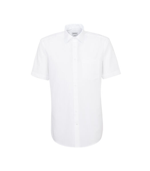 Overhemd Comfort Fit Korte mouwen Uni
