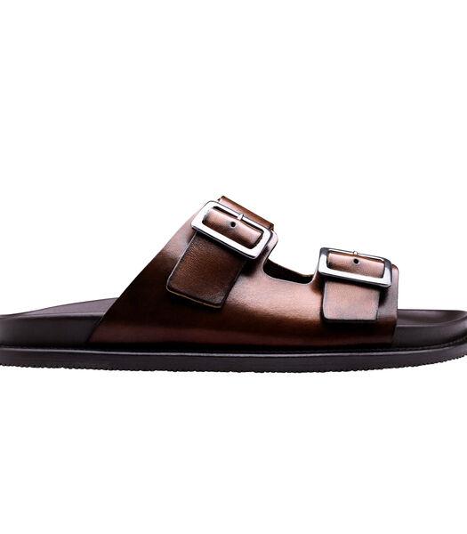 Leren sandalen SKYROS