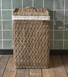RR Diamond Weave Laundry Basket image number 1