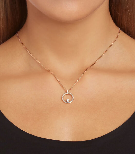 Collier Argent,Or rose 5202446
