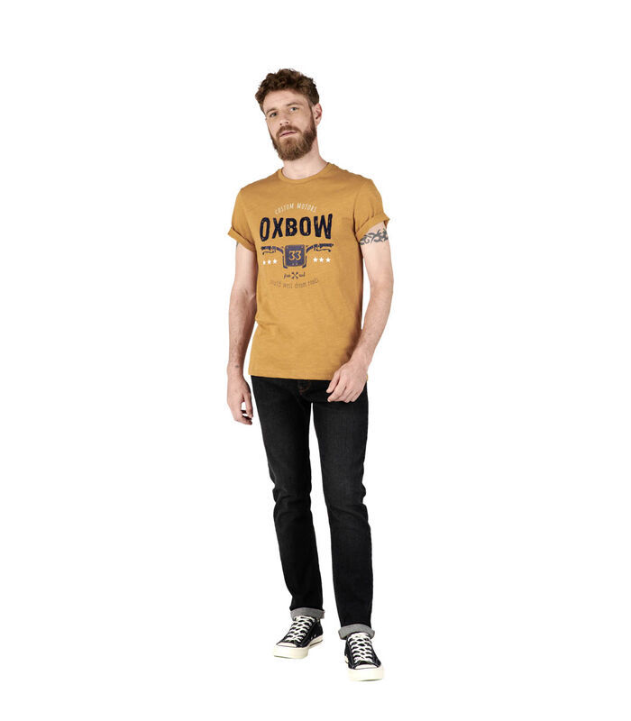 T-shirt met korte mouwen TUSTEM image number 3
