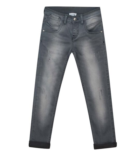 5 pocket slim jeans