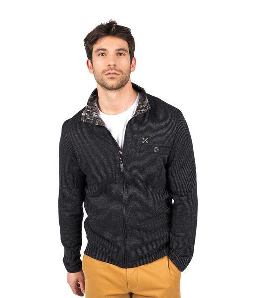 Sweater met rits SWENDI