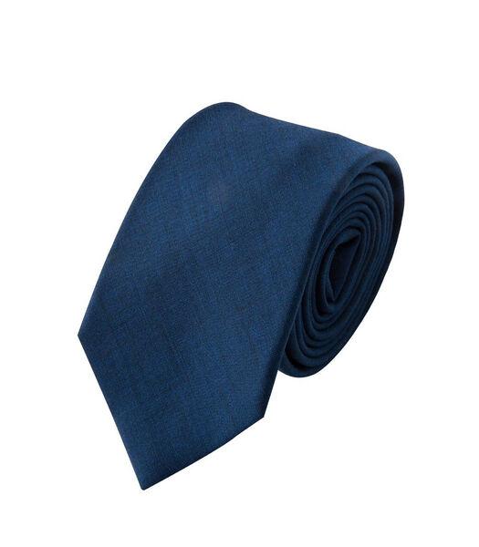 Cravate tissée à chevrons en laine