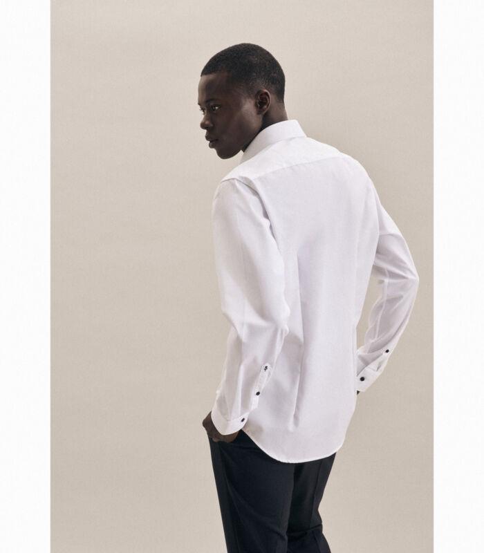 Overhemd Shaped Fit Lange arm Uni image number 1