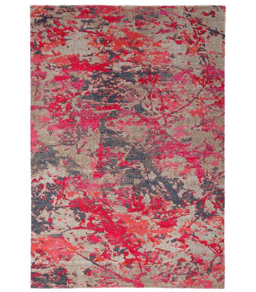 Vintage Zoe - Tapis de designer moderne - Rose dégradé