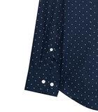 Overhemd Slim Fit Lange mouwen Stippen image number 2