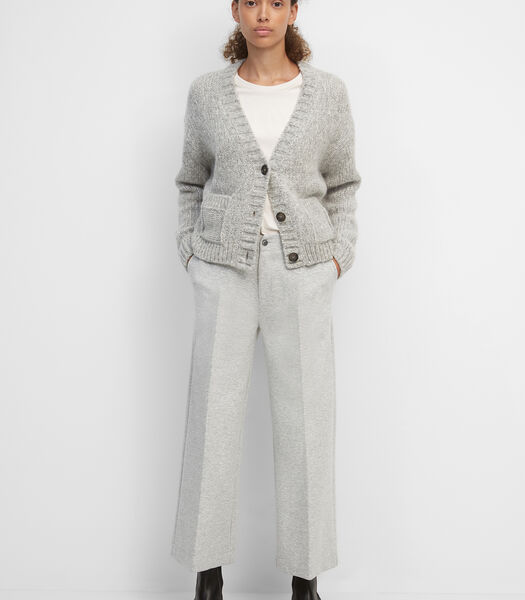 Jersey broek van interlock-jersey