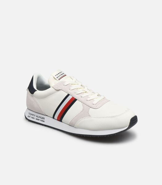 RUNNER LO LEATHER STRIPES Sneakers