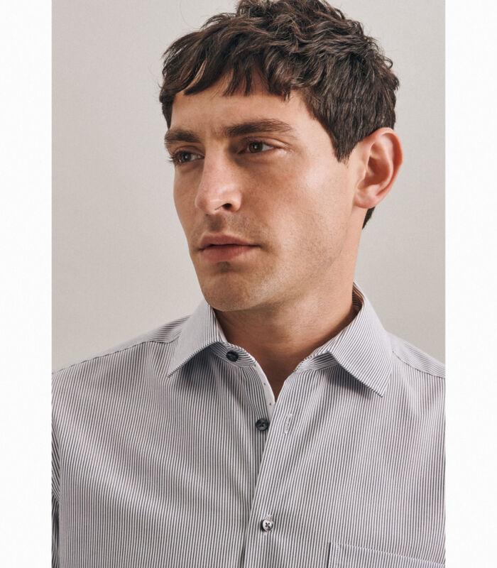 Overhemd Regular Fit Lange mouwen Strepen image number 2
