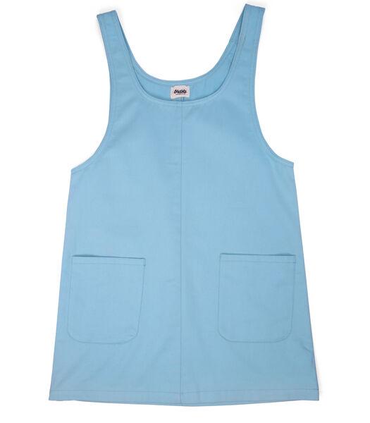 Sky Blue Pinafore Dress