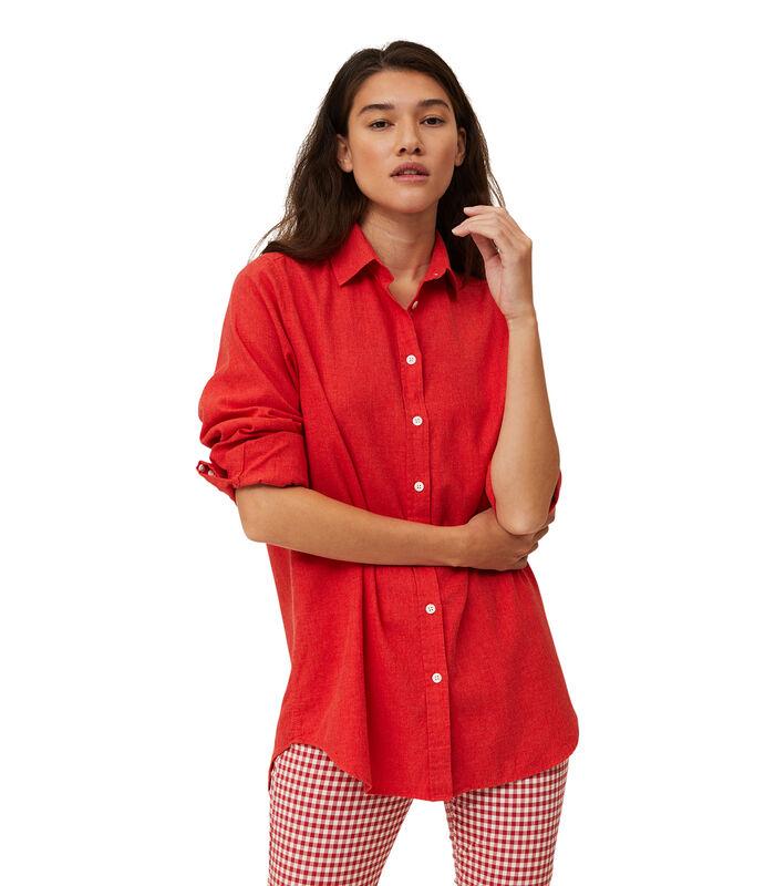 Overhemd Isa licht flanel image number 0
