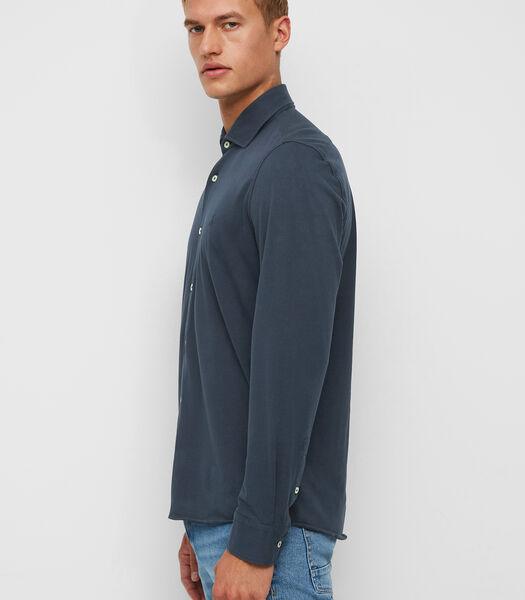 Chemise en jersey à manches longues en coton biologique