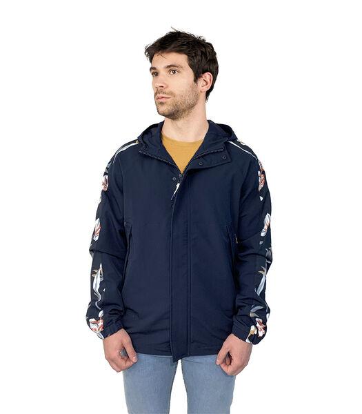 Veste zippée à capuche stretch JIMM