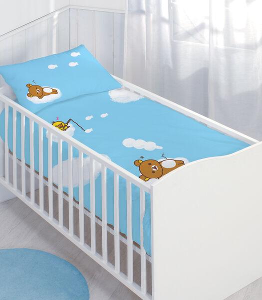100% katoenen babyset RILAKKUMA RELAX IN THE SKY