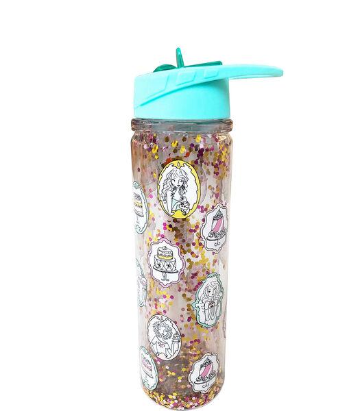 Set School - Drinkfles en lunchbox glitter