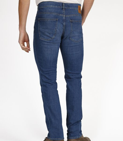 LC112 Core Mid Blue - Straight Jeans