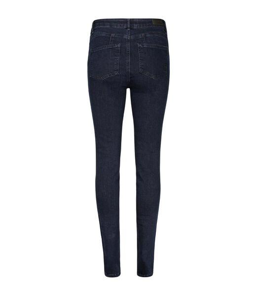 Ruwe jeans met zakken met studs ZOOM