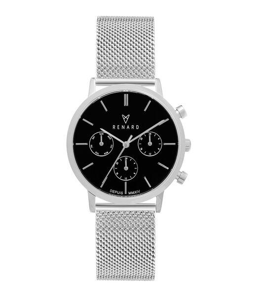Elite 35.5 Horloge zilverkleurig RB361SS30SS2