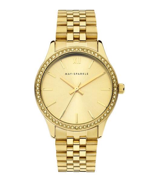 City Chique Horloge goudkleurig MSG006