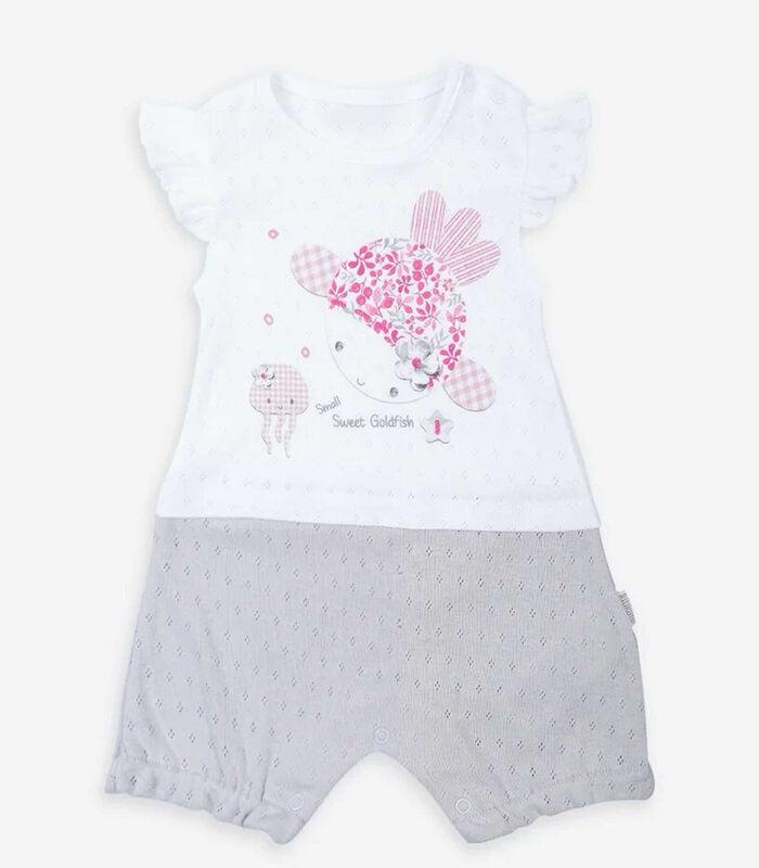 Biologisch katoenen babypakje, Doris image number 4